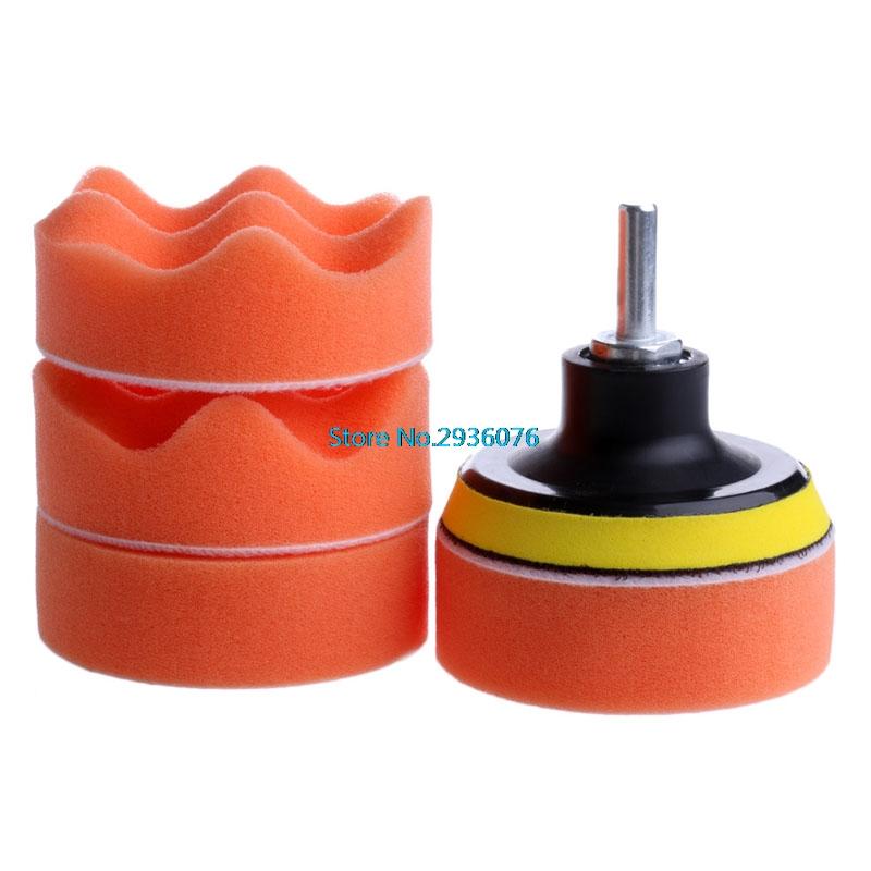 [해외]자동차 연마 패드 세트 연마 버퍼 왁싱 버핑 패드 드릴 세트 키트 자동차 연마 스폰지 휠 키트 폴리 셔 MY16_35/Car Polishing Pad Set Polishing Buffer Waxing Buffing Pad Drill Set Kit Car Poli