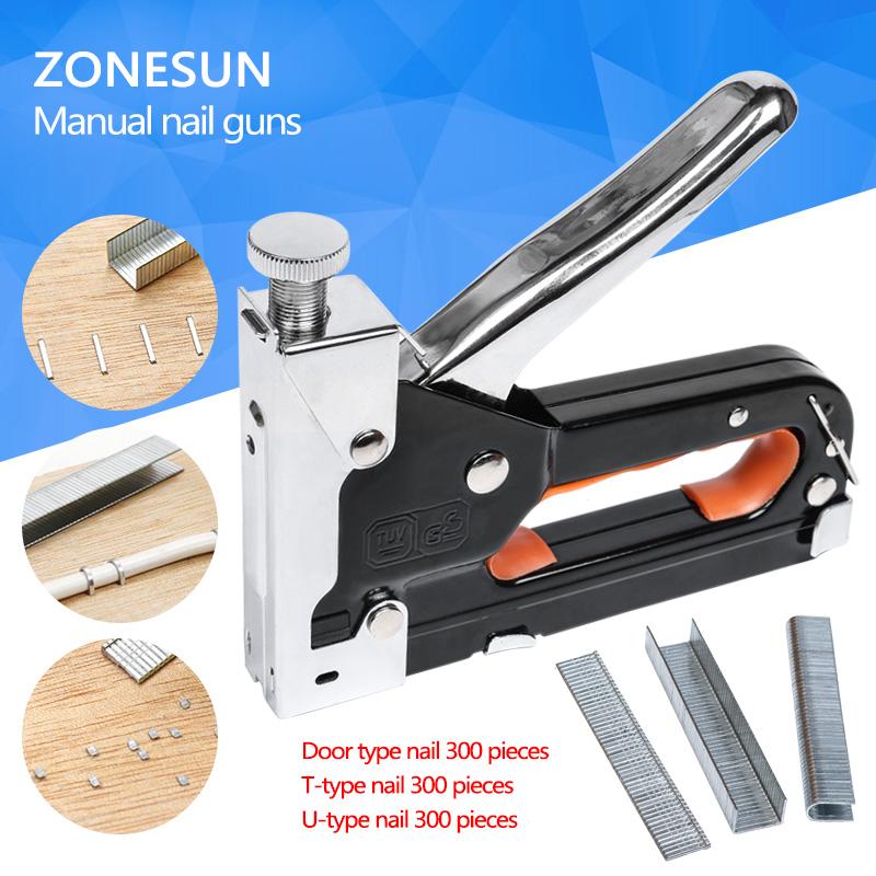 [해외]목재 문 실내 장식 프레임 리벳 건 키트 못 박는 리벳 도구 Nietzange 멀티 도구 네일 스테이플러 가구 스테이플러/Multi tool Nail Staple Gun Furniture Stapler For Wood Door Upholstery Framing
