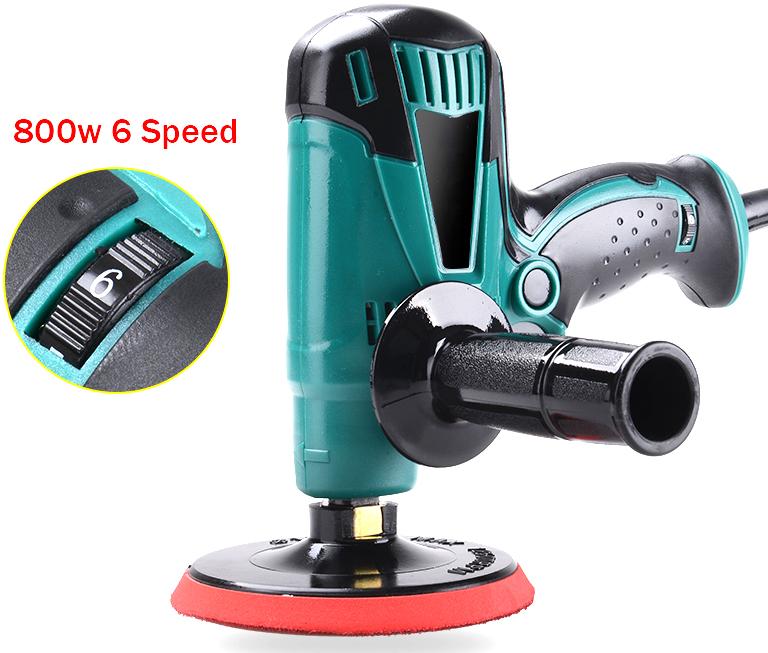 [해외]새로운 전기 연마 기계 자동차 Polisher 클리너 220v 800w 6 속도 변경/New Electric Polishing Machine Car Polisher Cleaner 220v 800w 6 Speed Change