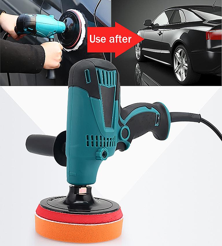 [해외]자동차 Polisher 가변 속도 자동차 페인트 관리 도구 폴란드어 샌더 220V 자동차 왁스 전기 층 폴리 셔/Car Polisher Variable Speed Car Paint Care Tool Polish Sander 220V Car Wax Electric