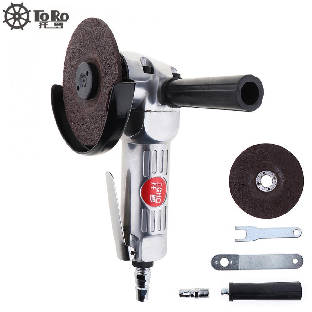 [해외]?4 인치 고속 공압 앵글 그라인더 디스크 폴리 쉬드 조각과 기계 폴리 쉬드 / 절단 작업을PVC 핸들/ 4 Inch High-speed Pneumatic Angle GrinderDisc Polished Piece and PVC Handle for Machine