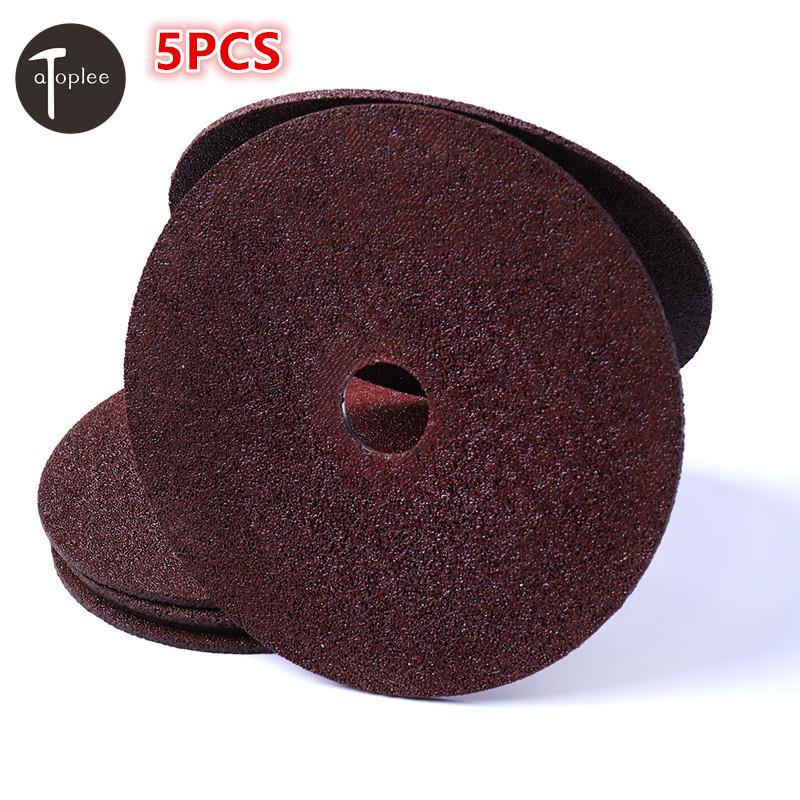 [해외]5PCS 30 메쉬 100x16x2mm 플랫 무릎 연삭 디스크 모든 앵글 그라인더 용 1 등급 모래 마무리 그라인딩 휠 톱 디스크/5PCS 30 Mesh 100x16x2mm Flat Lap Grinding Disc First Degree Sand For All