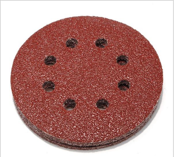 [해외]탑 50pcs / lot 5 && 240 그릿 파워 8 홀 샌드 디스크 랜덤 궤도 샌드페이퍼 샌더 최저 가격/Top- 50pcs/lot 5&& 240 Grit Power 8 Hole Sand Disc Random Orbit Sandpaper  Sa