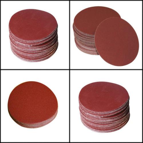 [해외]와이드 20pcs / lot 7 & & / 180mm 1500 Grits 파워 샌드 디스크 골드 공급 업체로부터 무작위 궤도 사포 샌더/Wide  20pcs/lot 7&&/180mm 1500 Grits Power Sand Disc Random Or