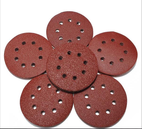 [해외]최고 품질의 10pcs / lot 5 & & 80g 모래 디스크 더 나은 만들기임의의 궤도 사포 샌더/Top-quality 10pcs/lot 5&& 80g Sand Disc Random Orbit Sandpaper   Sander For Bette