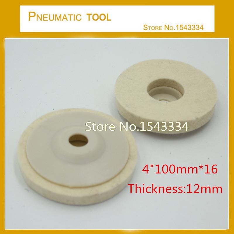 [해외]고품질 100mm * 16 4 & 짙은 양모 펠트 연마 패드/High quality 100mm*16 4& thicken wool felt polishing pad