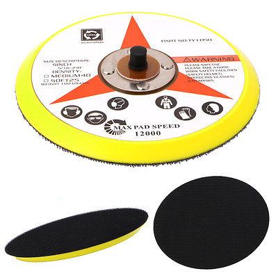 [해외]연마 샌더 백커 플레이트 납골 후크 루프 샌딩 디스크 패드 6 & 150MM/Polishing Sander Backer Plate Napping Hook Loop Sanding Disc Pad 6& 150MM