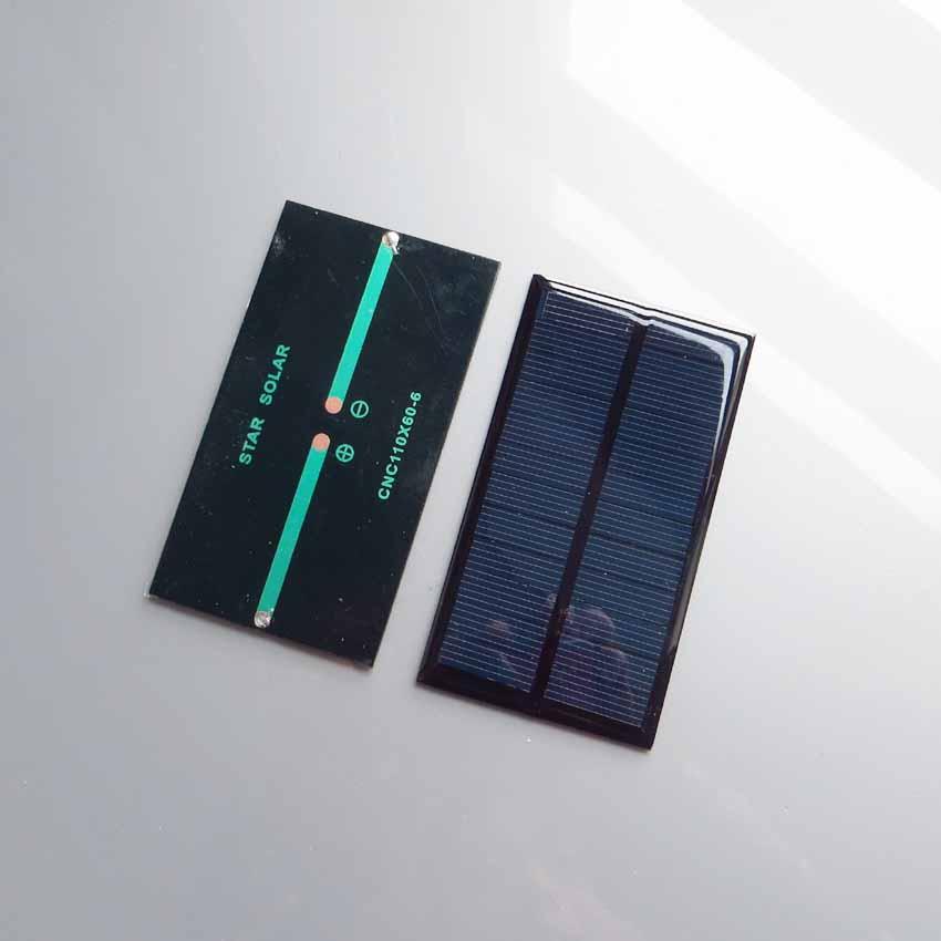 [해외]2pcs x 6V 1W 160mA 미니 monocrystalline 다결정 태양열 발전기 충전기/2pcs x 6V 1W 160mA Mini monocrystalline polycrystalline solar generator charger