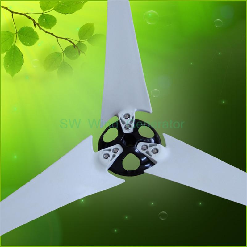 [해외]바람 터빈 부품 3 조각 바람 블레이드 길이 75CM +1 허브 +1 500W 바람 터빈 발전기에 대 한 모자/Wind Turbine Part 3 Pieces Wind  bladesLength of 75CM +1 Hub +1 Hat For 500W Wind Tu