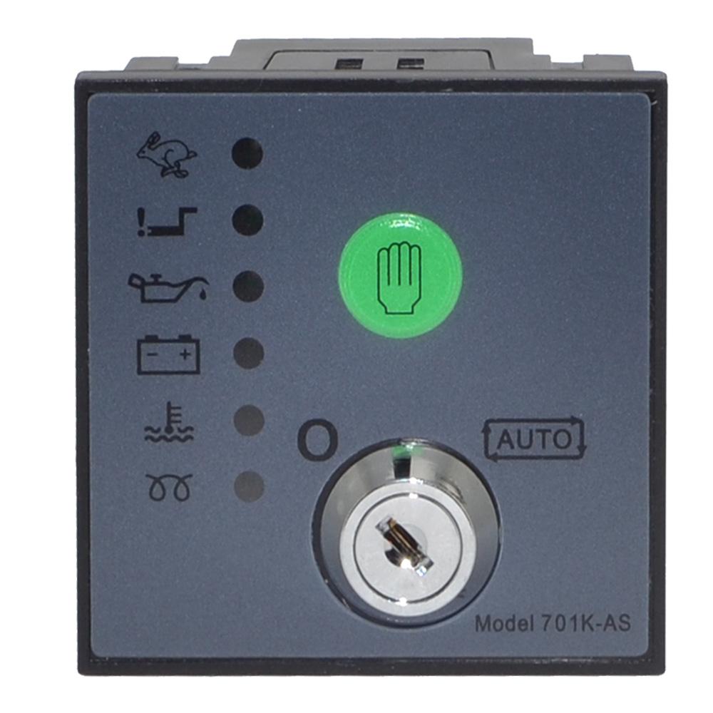 [해외] 701K-AS 자동 시작 생성기 컨트롤러 보드 키 시작 모듈/Free shipping 701K-AS Auto Start Generator Controller Board Key Start Module