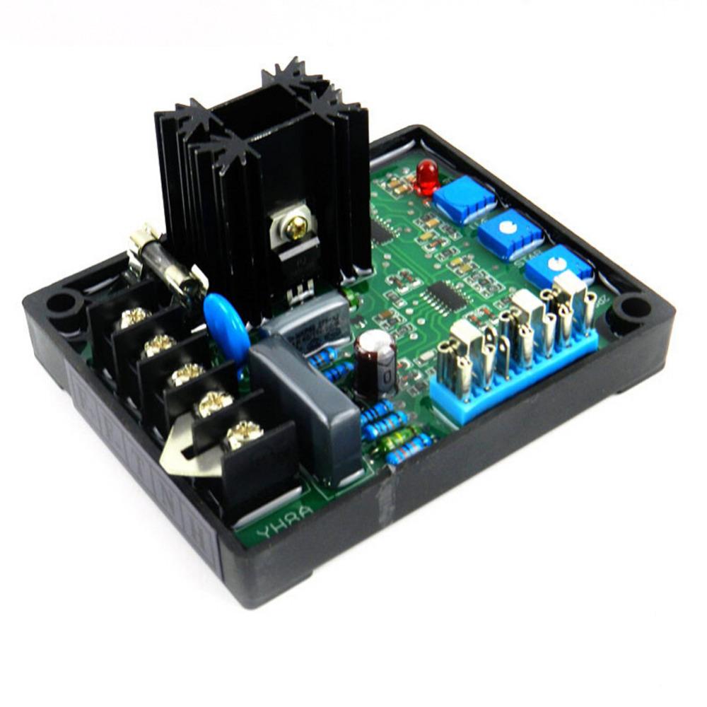 [해외]GAVR-8A AVR 생성기 자동 전압 조절기 모듈 프로그램 가능 입력 모델 8A MP 퓨즈 소프트 스타트 전압 램핑 보드/GAVR-8A AVR Generator Automatic Voltage Regulator Module Programmable Input M