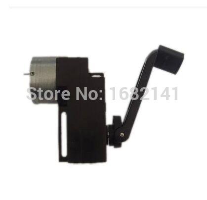 [해외]높은 전원, 휴대용 충전기 DIY 1백~3백밀리암페어 15V / 1000R은 손 DC 크랭크 발전기 디나모 손 발생기를 처리/High Power, Portable Charger Handle Hand DC Crank power generator Dynamo Han