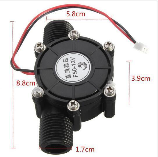 [해외]80V10W DC 마이크로 수력 발전기를 눌러 물 흐름 유압 DIY 1/2 인치/80V10W DC Micro Hydro Generator Tap Water Flow Hydraulic DIY 1/2 Inch