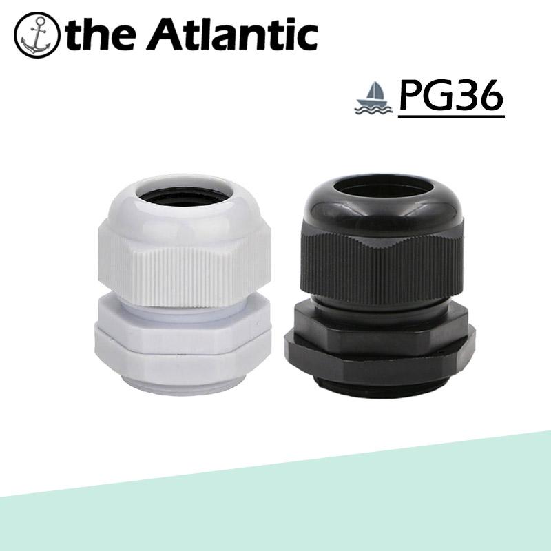 [해외]2pcs PG36 IP68 방수 나일론 플라스틱 케이블 글 랜드, 22-32mm 케이블 용 케이블 커넥터/2pcs PG36 IP68 Waterproof Nylon Plastic Cable Gland,Cable Connector for 22-32mm Cable