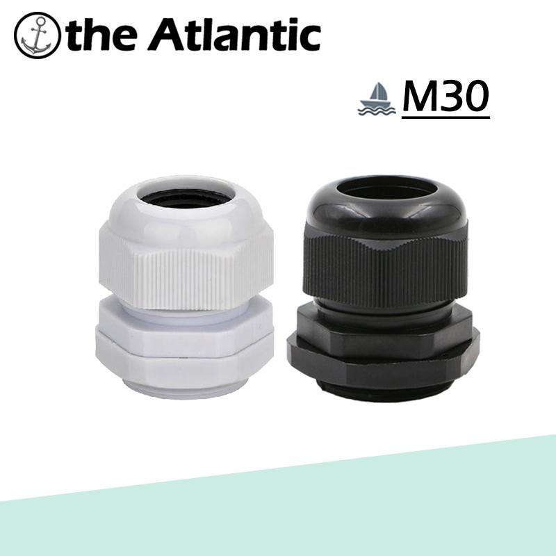 [해외]5pcs M30 IP68 방수 나일론 플라스틱 케이블 글 랜드, 16-20mm 케이블 용 케이블 커넥터/5pcs M30 IP68 Waterproof Nylon Plastic Cable Gland,Cable Connector for 16-20mm Cable