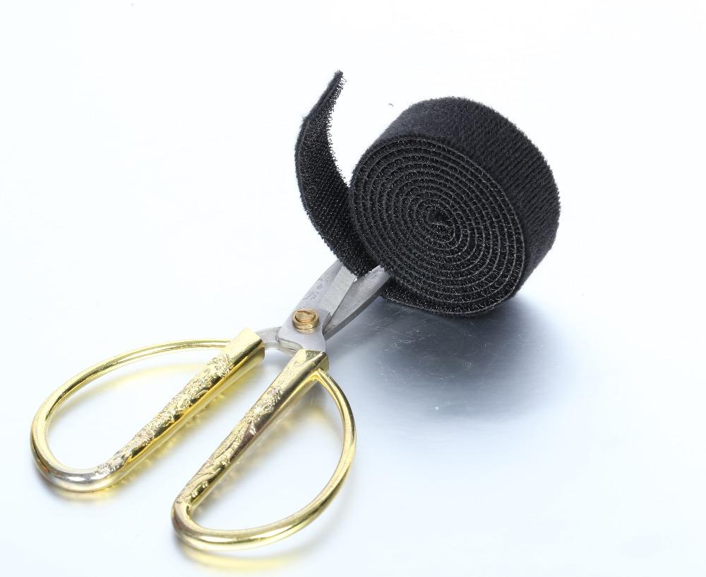 [해외]1M DIY 컴퓨터 와이어 코드 케이블 도청 홀더 와인 더 랩 블랙/1M  Diy Computer Wire Cord Cable Taps Holders Winder Wrap Black