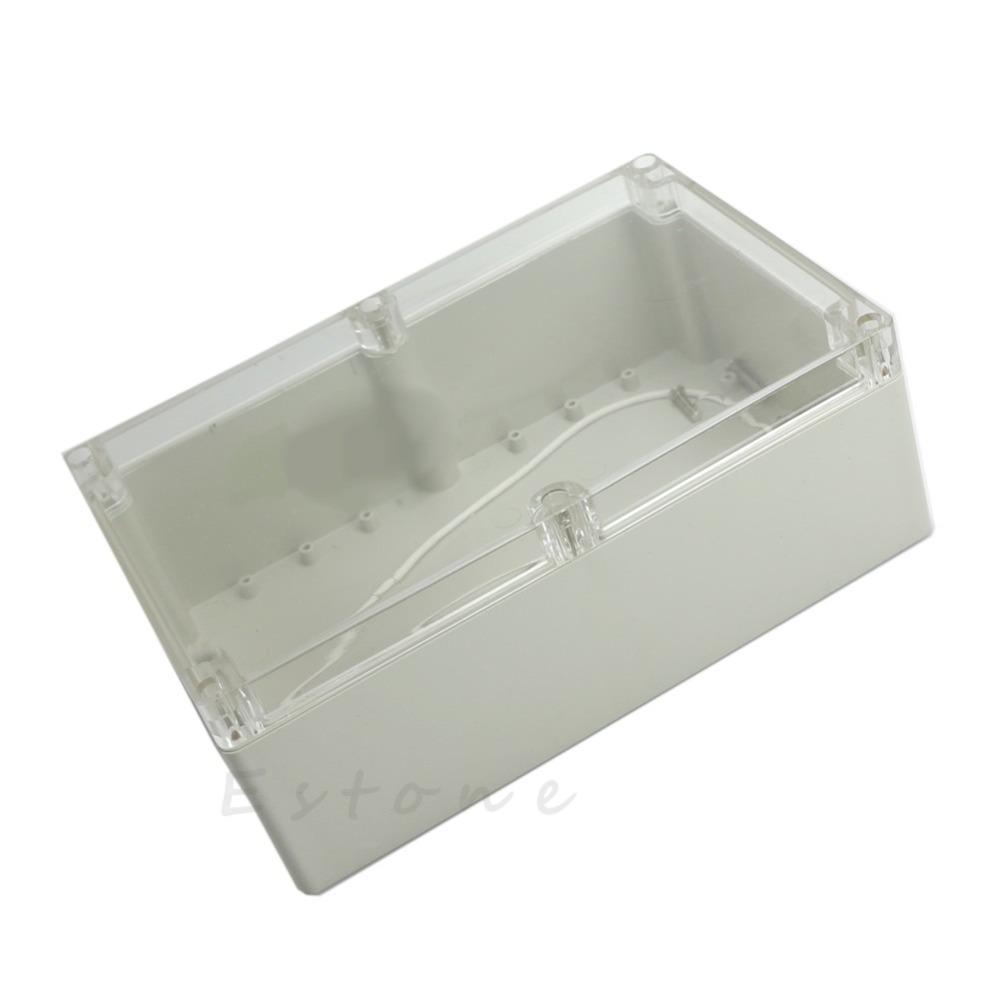 [해외]뜨거운 230x150x85mm 방수 명확한 플라스틱 전자 프로젝트 상자 인클로저 케이스 -W310/Hot 230x150x85mm Waterproof Clear Plastic Electronic Project Box Enclosure CASE -W310