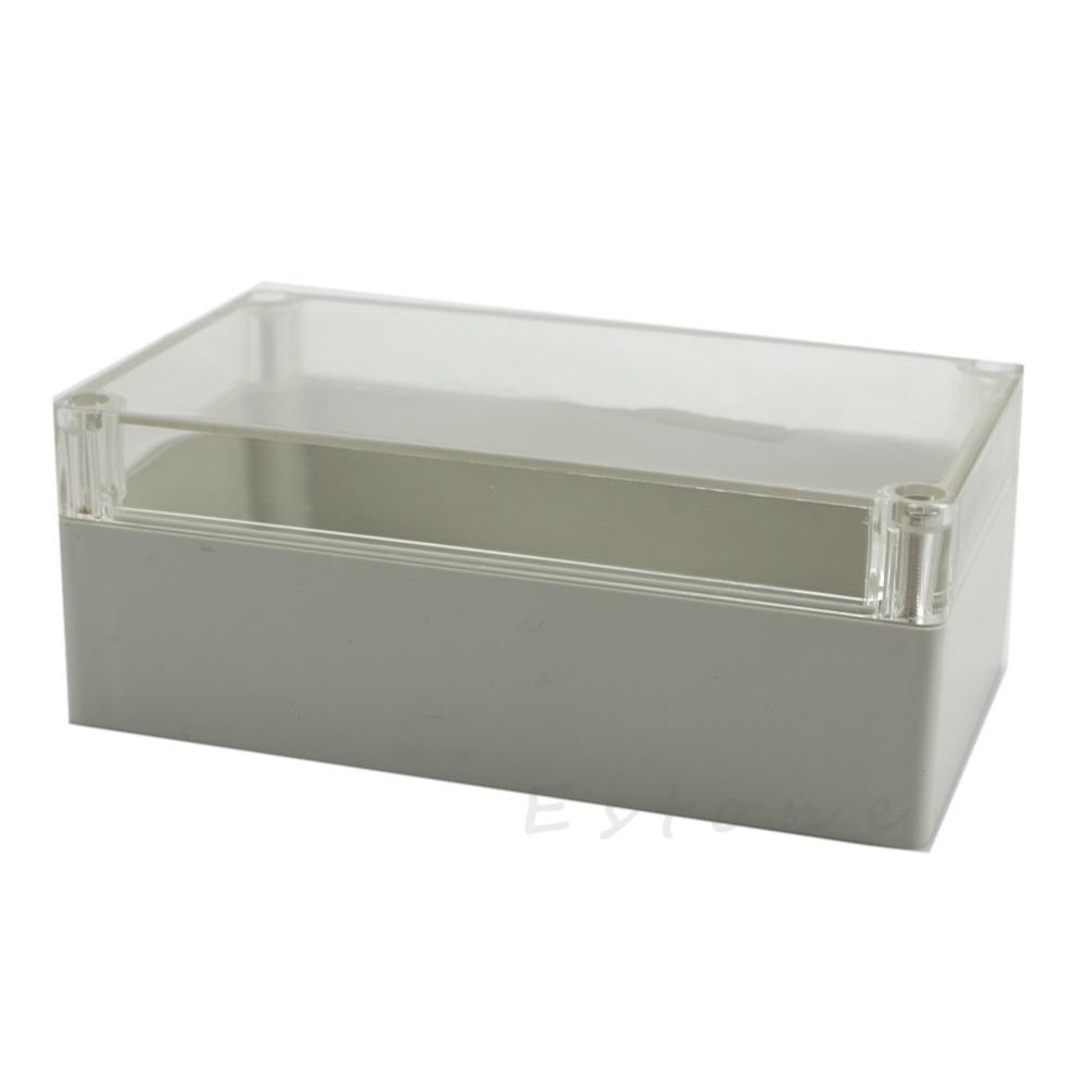 [해외]158x90x60mm 방수 분명 전자 프로젝트 커버 박스 인클로저 플라스틱 케이스 -Y122/158x90x60mm Waterproof Clear Electronic Project Cover Box Enclosure Plastic Case-Y122