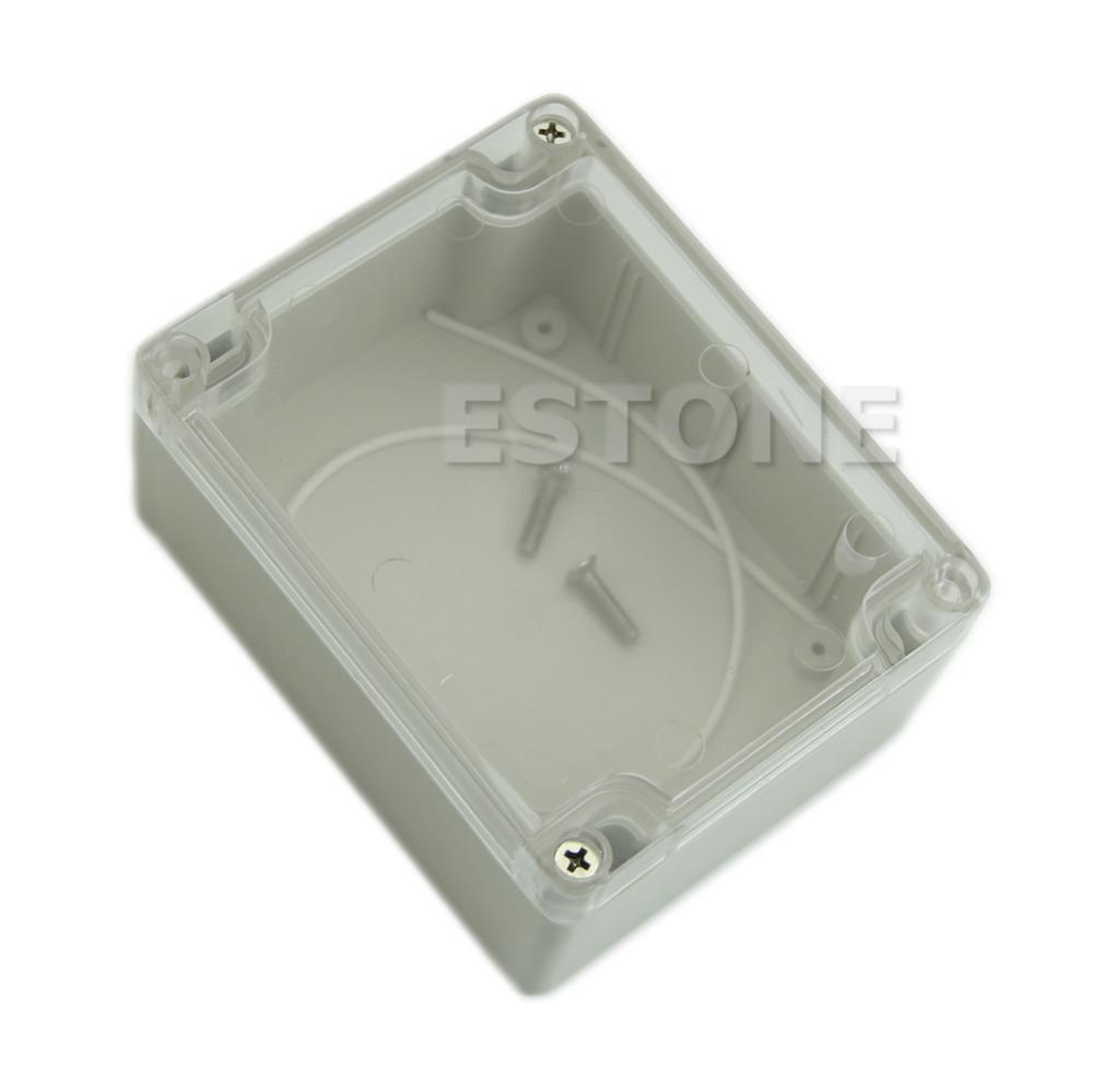[해외]C18 115x90x55MM 방수 커버 명확한 플라스틱 전자 프로젝트 상자 인클로저 케이스/C18 115x90x55MM Waterproof Cover Clear Plastic Electronic Project Box Enclosure Case
