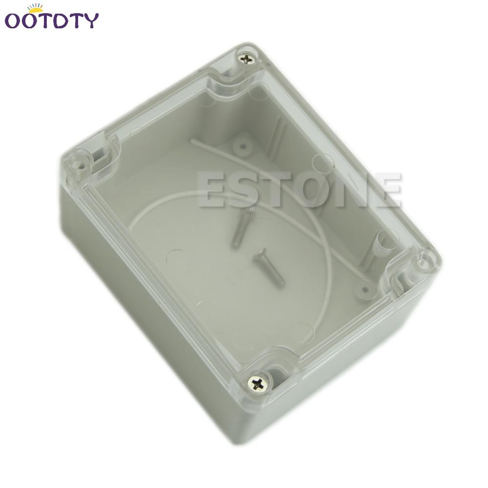[해외]115x90x55MM 방수 커버 명확한 플라스틱 전자 프로젝트 상자 인클로저 Case_11/115x90x55MM Waterproof Cover Clear Plastic Electronic Project Box Enclosure Case_11