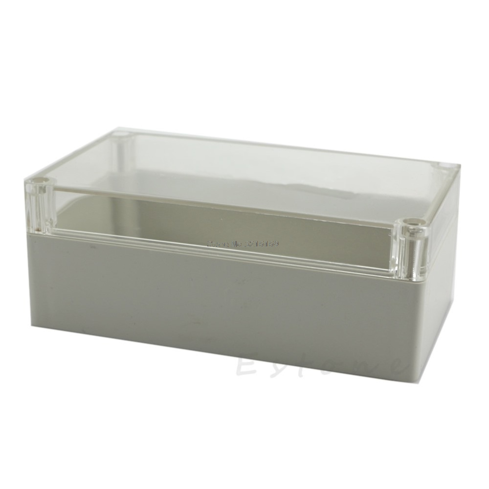 [해외]핫 158x90x60mm 방수 지우기 전자 프로젝트 커버 박스 인클로저 플라스틱 케이스 프로모션/For hot 158x90x60mm Waterproof Clear Electronic Project Cover Box Enclosure Plastic Case Pro