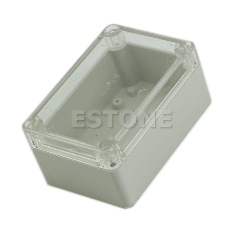 [해외]플라스틱 방수 분명 커버 전자 프로젝트 상자 인클로저 케이스 100x68x50mm 새로운 /Plastic Waterproof Clear Cover Electronic Project Box Enclosure Case 100x68x50mm New Drop ship