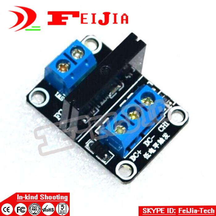 [해외]아드의 uino를 들어 5PCS 5V 1 채널 OMRON SSR G3MB-202P 솔리드 스테이트 릴레이 모듈 240V 2A OutputResistive 퓨즈/5PCS 5V 1 Channel OMRON SSR G3MB-202P Solid State Relay M