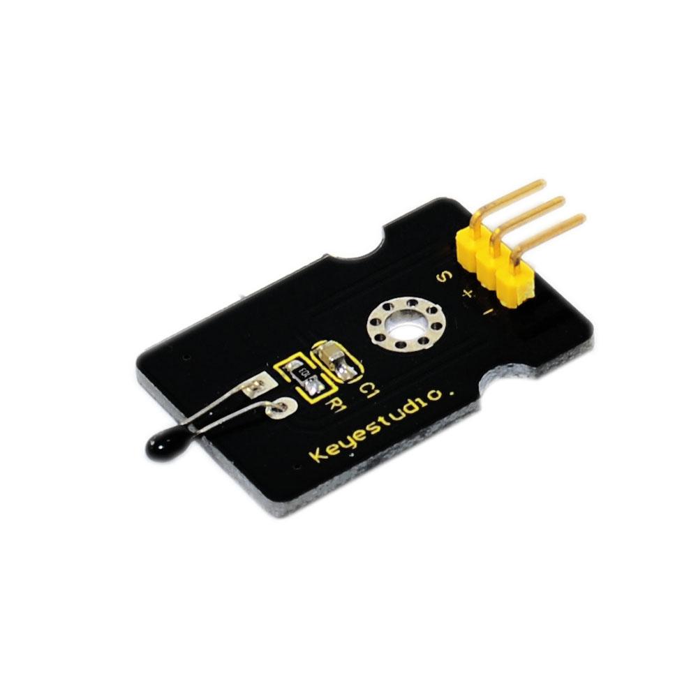 [해외] Keyestudio 아날로그 온도 아두 이노를센서 감지 모듈/Free shipping Keyestudio Analog Temperature Sensor Detection Module for Arduino