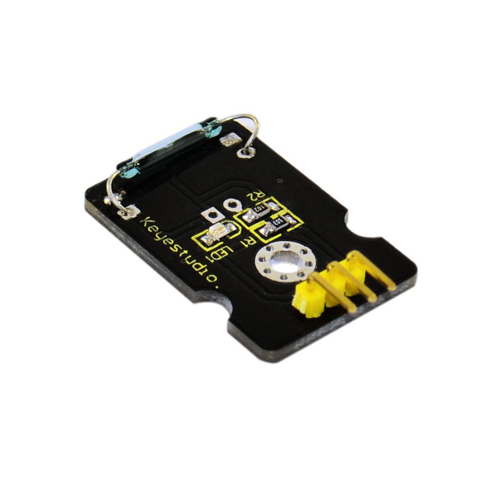[해외] Keyestudio 리드는 아두 이노를센서 마그네트론 모듈 스위치/Free shipping Keyestudio Reed Switch Sensor Magnetron Module for Arduino