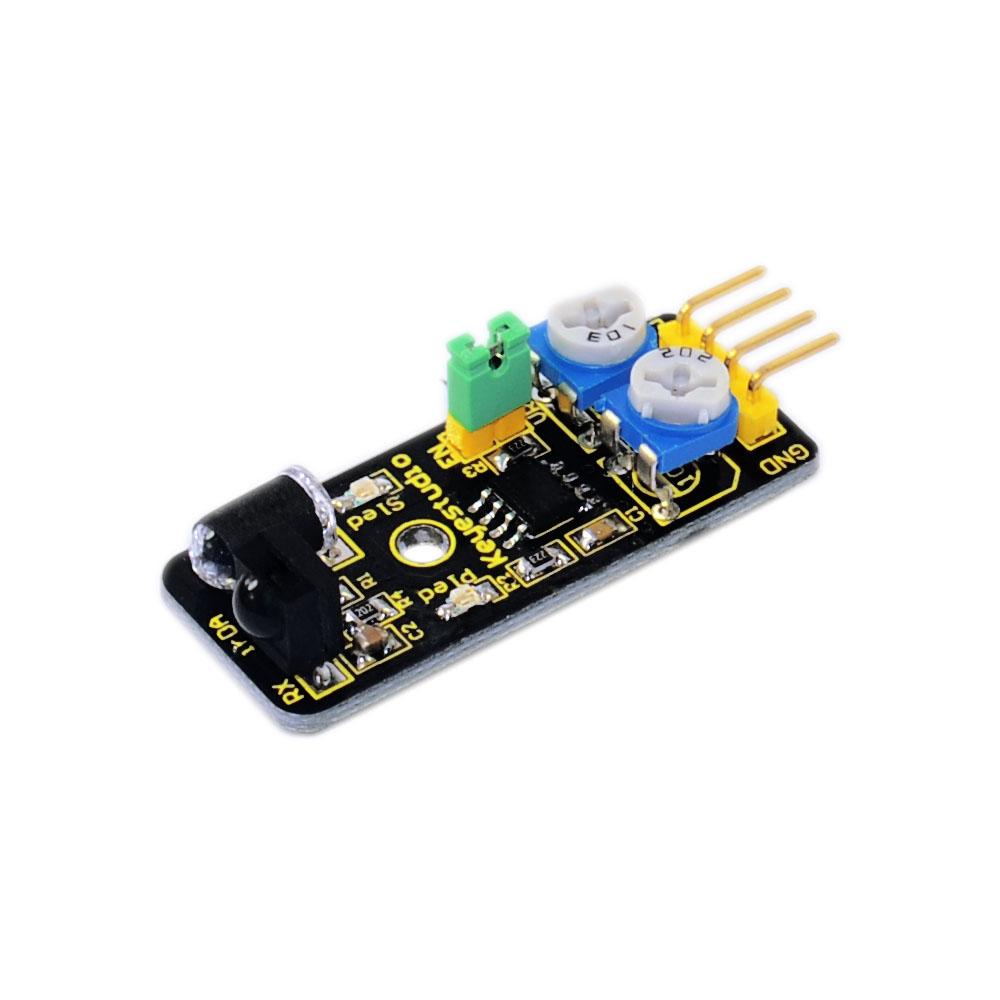[해외] Keyestudio IR 적외선 장애물 회피 센서 모듈 아두 이노 로봇 자동차/Free shipping  Keyestudio IR Infrared Obstacle Avoidance Sensor Module for Arduino Robot car