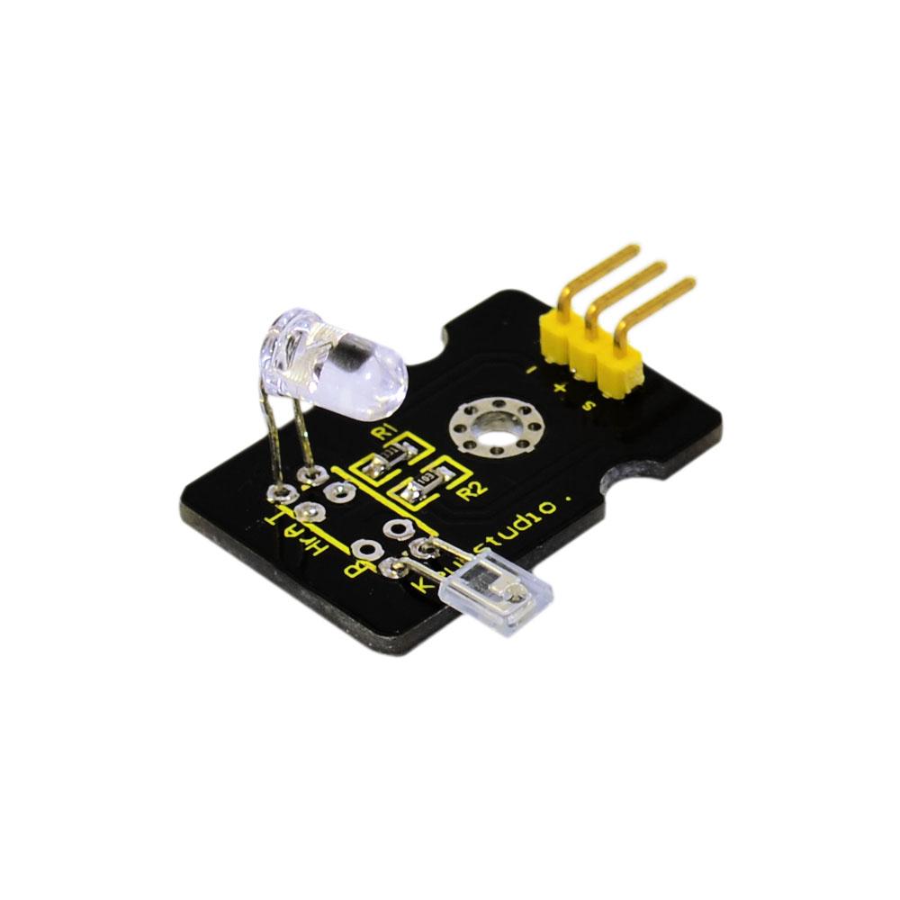 [해외]아두 이노를 Keyestudio 손가락 프로브 심장 박동 펄스 모니터 센서 모듈/Free shipping Keyestudio Finger Probe Heart Rate Pulse Monitor sensor Module for arduino