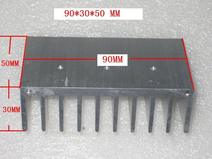 [해외] 앰프 보드 라디에이터 90 * 30 * 60MM/Free shipping Amplifier board radiator 90*30*60MM