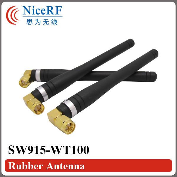 [해외]무선 모듈에 대한 10PCS / 많은 SW868-WT100 915MHz의 이득 3.0 dBi의 고무 AntennaMale SMA 헤드/10pcs/lot SW868-WT100 915MHz Gain 3.0 dBi Rubber AntennaMale SMA head f