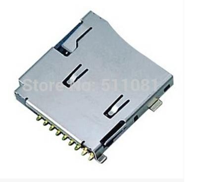 [해외]20 PC TransFlash TF 마이크로 SD 카드 소켓 어댑터 자동 푸시 / 푸시 타입 메모리 카드 소켓 / 슬롯 / 시트 / 홀더/20 PCS TransFlash TF Micro SD Card Socket Adapter Automatic Push/Push