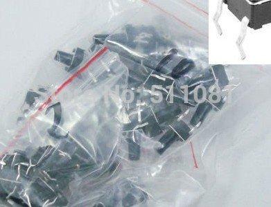 [해외] 60pcs 새로운 촉각 푸시 버튼 스위치 순간 전술 구색 키트 6 값 4pin 6x6x4.3-12mm/Free shipping 60pcs New Tactile Push Button Switch Momentary Tact Assortment Kit 6 value
