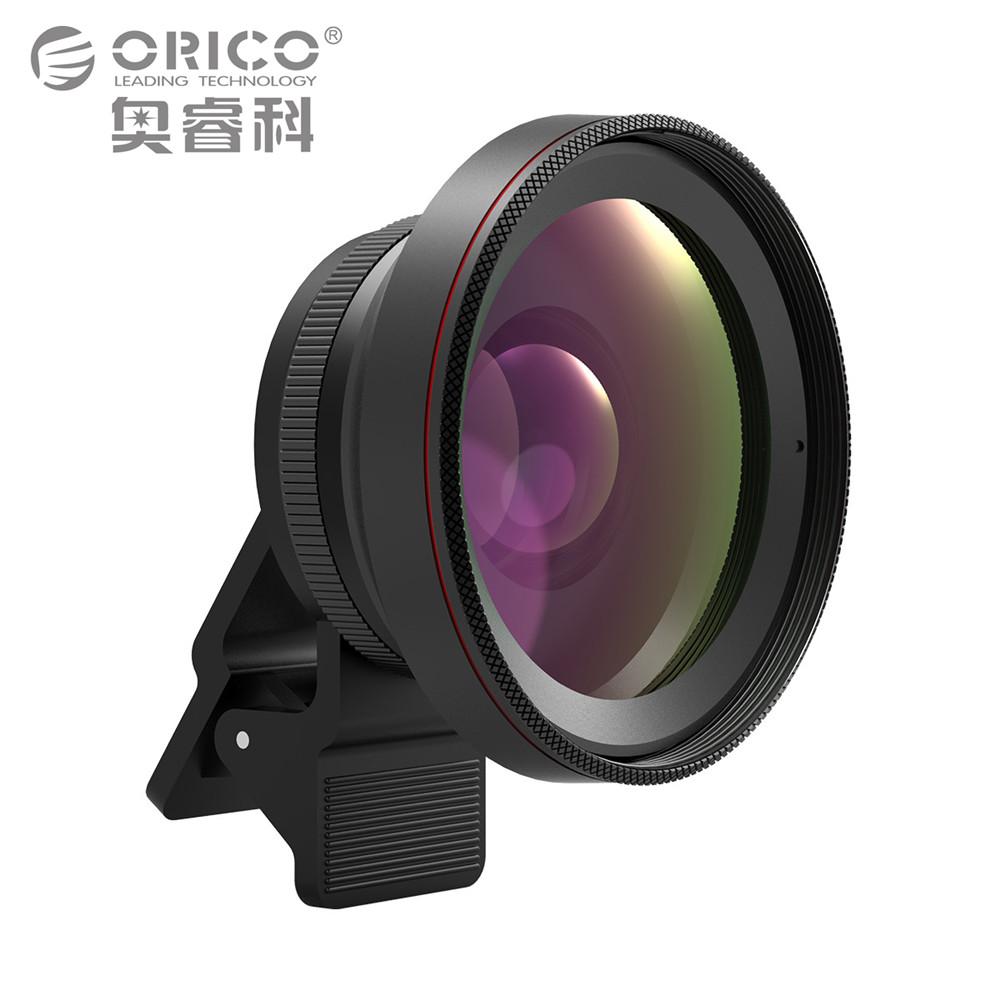 [해외]ORICO 휴대 전화 렌즈 카메라 렌즈 2 in 1 0.6X 와이드 앵글 렌즈 클립 15X 매크로 HD 범용? ? ???? ?? iPhone/ORICO Mobile Phone Lens Camera Lens 2 in 1 0.6X Wide Angle LensClip
