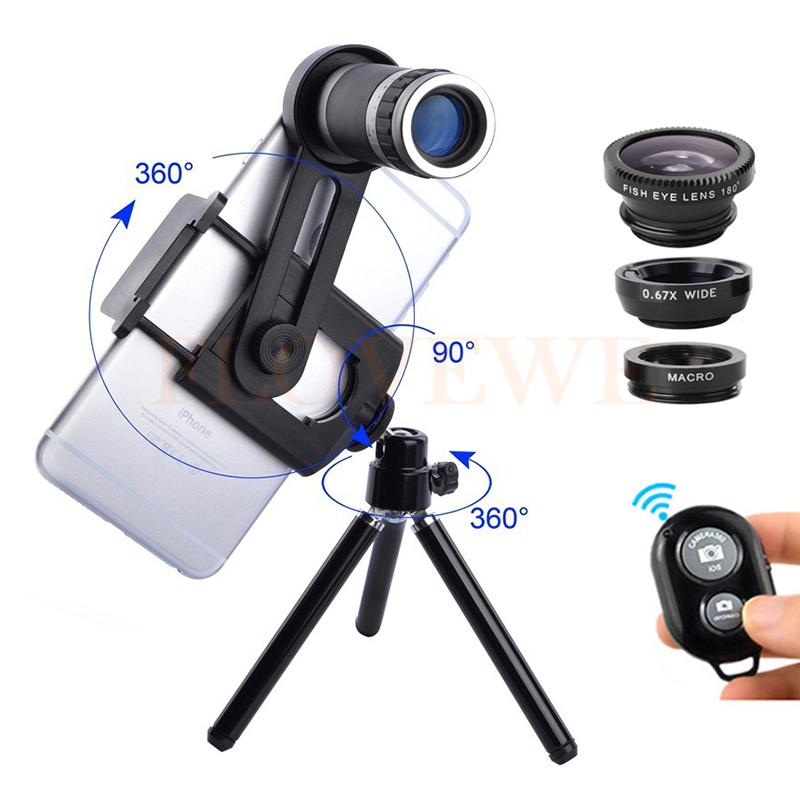 [해외]2017 8X 렌즈 줌 망원 렌즈 망원경 현미경 매크로 와이드 앵글 아이 손쉬운 렌즈 6 7 8 스마트 폰 클립 삼각대/2017 8X Lens Zoom Telephoto Lenses Telescope Microscope Macro Wide Angle Fishey