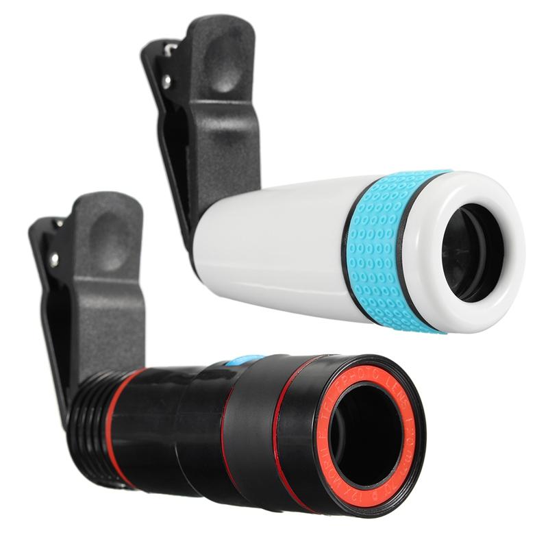 [해외]12X 광학 줌 망원경 망원경 아이폰을유니버설에 망원 전화 카메라 렌즈 클립? ? ???? ?? 모바일 휴대 전화 두 가지 유형/12x Optical Zoom Lens Telescope Telephoto Phone Camera Lens Clip on Univer