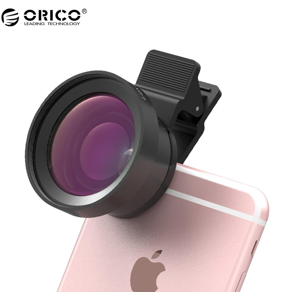 [해외]ORICO MPC-A 범용 휴대 전화 렌즈 2 in 1 와이드 앵글 + 매크로 슈퍼 와이드 앵글 렌즈 디지털 고화질 전화/ORICO MPC-A Universal Mobile Phone Lens 2 in 1 Wide Angle + Macro Super Wide A