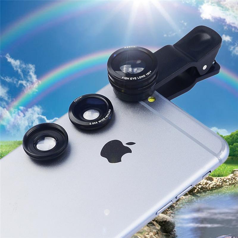 [해외]Clip Fisheye 와이드 앵글 매크로 렌즈 사진 세트 1pc 어안 렌즈 + 1pc 광각 렌즈 추가 매크로 렌즈 APL-CX3/Clip Fisheye Wide Angle Macro Lens Photo Set 1pc fisheye lens+1pc wide an