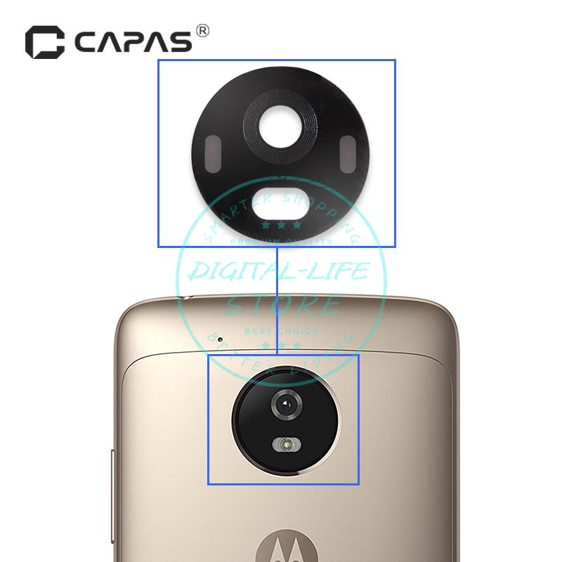 [해외]모토로라 Moto G5 교체 용 전화 수리 예비 부품에 대한 후면 카메라 유리 렌즈 커버 배송 전 테스트 됨/Rear Back Camera Glass Lens Cover for Motorola Moto G5 Replacement Phone Repair Spare