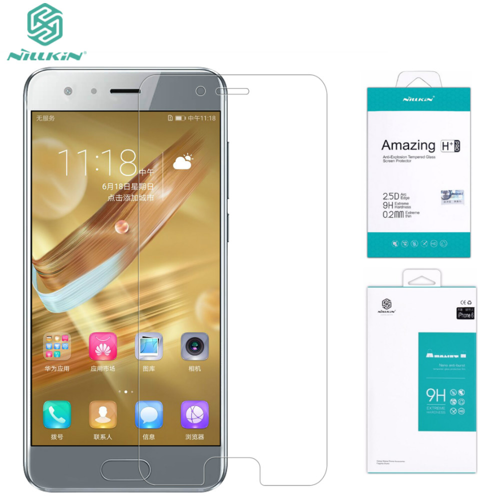 [해외]Huawei Honor 9 강화 유리 필름 NILLKIN Huawei Honor 9 (5.15 inch) 용 놀라운 H / H + Pro 강화 유리 스크린 보호기/Huawei Honor 9 Tempered Glass Film NILLKIN Amazing H /