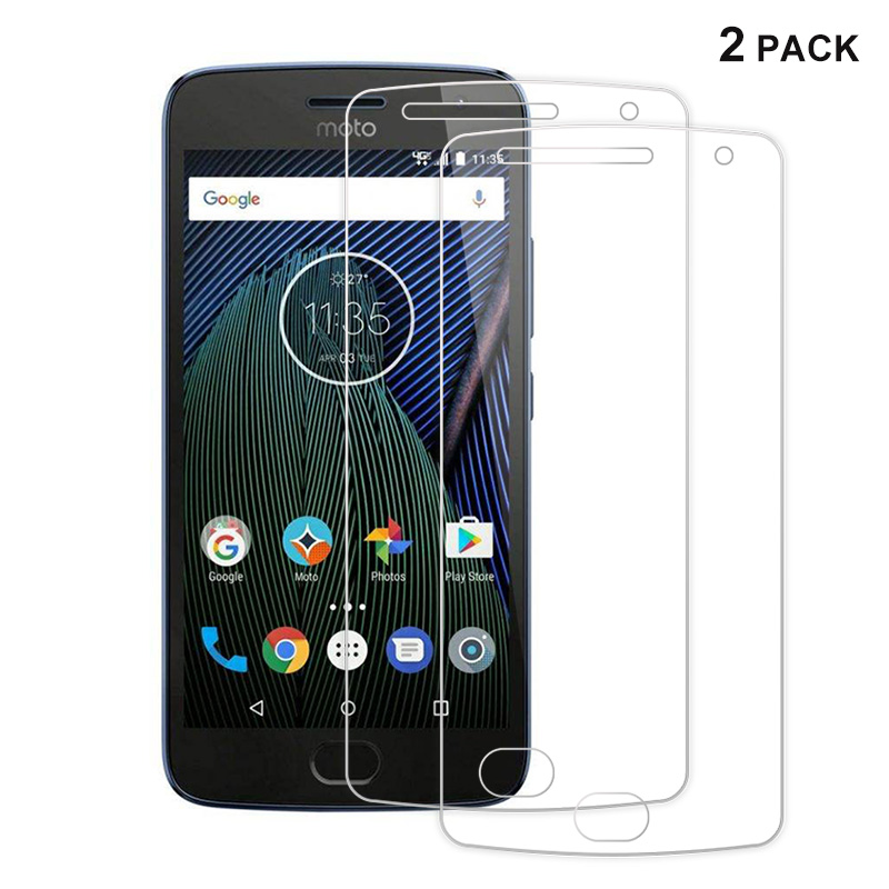 [해외]Motorola Moto G5s 9H 2.5D 프리미엄 화면 보호 필름, GXE 모토로라 Moto G5s 및 Portective Guard 용 2pcs 강화 유리/For Motorola Moto G5s 9H 2.5D Premium Screen Protector