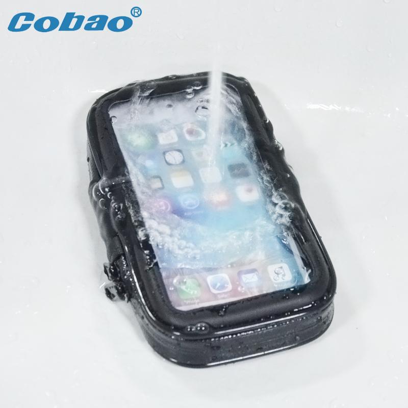 [해외]Cobao 유니버설 방수 자전거 오토바이 전화 홀더 핸들 바 자전거 휴대 전화 홀더 지원 3.5-6.7 인치/Cobao Universal Waterproof Bike Motorcycle Phone Holder Handlebar Bicycle Mobile Phon