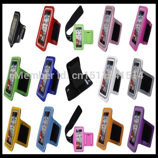[해외]50ps는 / 많은 스포츠 암밴드는 아이폰 4 4S에 대한 조정 자전거 스케이팅 애플 4 4S를체육관 암 밴드를 실행/50ps/lot Sports Armbands for Iphone4 4S, Adjustable Biking Skating Running Gym A