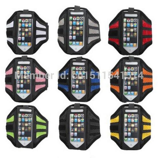 [해외]스포츠 완장을 실행 아이폰 5 Solf 벨트 네오프렌에 대 한 다채로운 체육관 조깅 휴대 전화 암 밴드 케이스 홀더 커버/Colorful Gym Jogging mobile Phone Arm Band Case holder cover For iphone 5 Solf