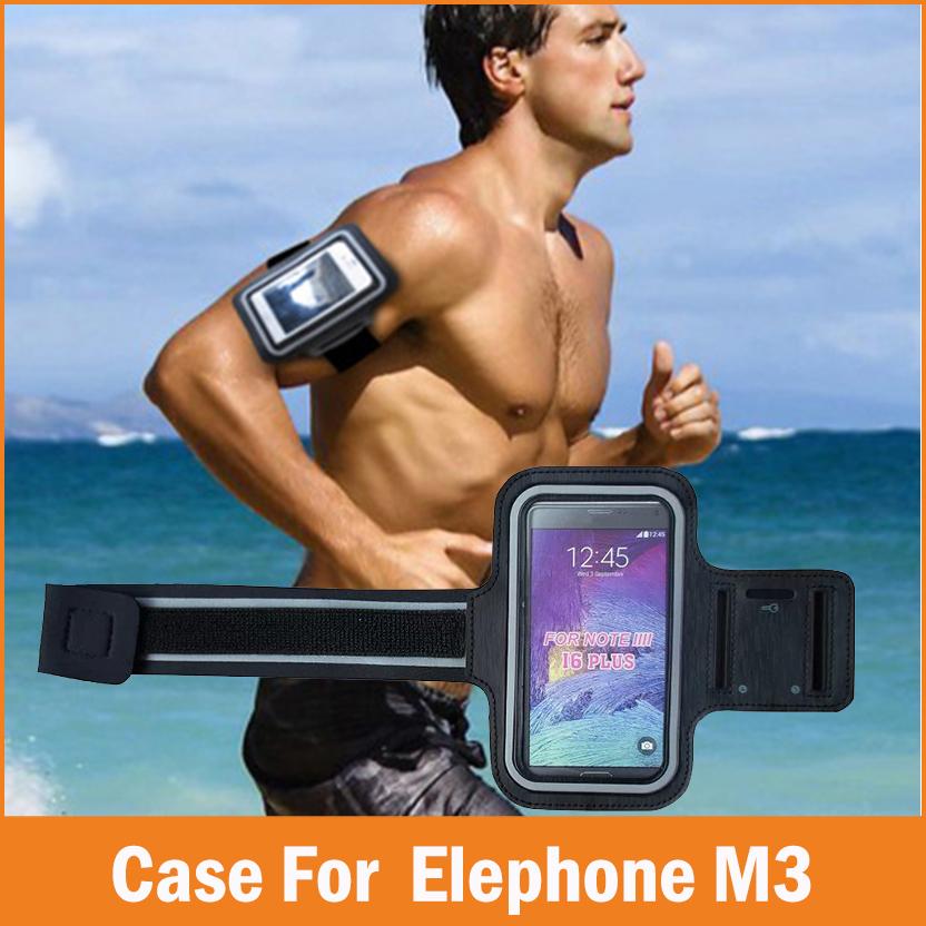 [해외]스포츠 GYM running fundas Elephone M3 케이스 용 코크 5.5 인치 방수 조깅 암 밴드 폰 가방 케이스 커버 액세서리/Sports GYM Running fundas Coque For Elephone M3 Case 5.5 inch Water