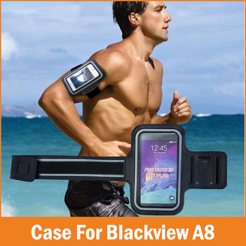 [해외]새로운 스포츠 GYM running fundas Coque blackview a8 케이스 5 인치 방수 조깅 암 밴드 폰 가방 케이스 커버 액세서리/New Sports GYM Running fundas Coque blackview a8 Case 5 inch Wa