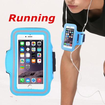 [해외]4.5-5.1 인치 스포츠 팔 밴드 파우치 애플 아이폰 6s 6 팔 가방에 대 한 경우 아이폰 6s 실행 체육관 전화 커버/4.5-5.1 inch Sport Arm band Pouch For case iphone 6s Running Gym Phone Cover