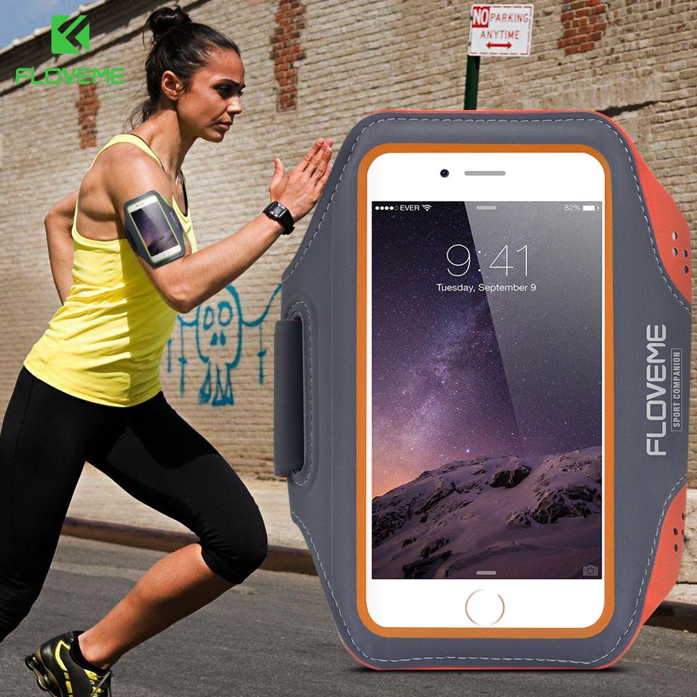 [해외]FLOVEME 5.5 갤럭시 S6 용 방수 완장 4.7 인치 iPhone 용 S7 Edge 유니버설 케이스 6 6 대 플러스 케이스 스포츠 러닝 암 밴드/FLOVEME 5.5 4.7 Inch Waterproof Armband For Galaxy S6 S7 Edg